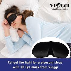 #Soft Padded Blindfold 3D Eye Mask Travel #Rest Sleep Aid Shade Cover Unisex. www.viaggitravelworld.com