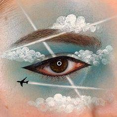 Gorgeous Makeup: Tips and Tricks With Eye Makeup and Eyeshadow – Makeup Design Ideas Eye Makeup Steps, Eye Makeup Art, Natural Eye Makeup, Eye Art, Smokey Eye Makeup, Cute Makeup, Gorgeous Makeup, Makeup Inspo, Makeup Inspiration