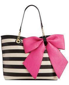 Betsey Johnson Macy's Exclusive Tote - Impulse Contemporary Brands - Handbags & Accessories - Macy's