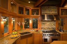 50 Dream Kitchens You Desperately Want To Cook In. This kitchen has the perfect homey, warm and upbeat vibe.