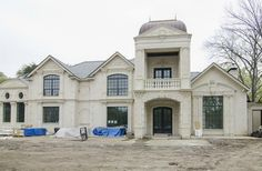 $6 Million 13,000 Square Foot Newly Built French Style Mansion In Dallas, TX Million Dollar Homes, Mansions For Sale, French Style, Luxury Real Estate, Square Feet, Dallas, Expensive Homes, Street, House Styles