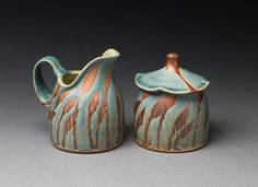 Colleen Riley ... love the pitcher shape - may make something smaller/similar to go with my sugar bowl project