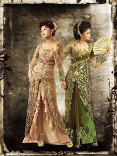 . Kebaya Dress, Blouse Dress, Indonesian Kebaya, Beautiful Outfits, Beautiful Women, Traditional Fashion, Sari, Asian, My Style