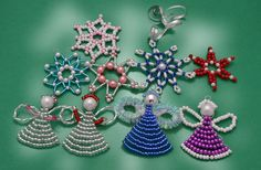 #Xmas is coming! Looking for #Christmas #ornaments? Check this https://www.etsy.com/shop/EvAtelier1