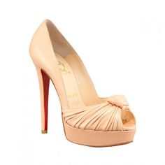 Christian Louboutin Knotted Pump Nude