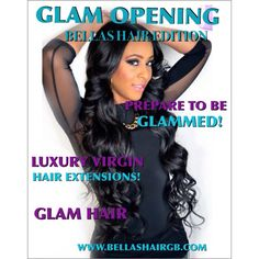 Affordable 5A and 6A hair extensions.   www.bellashairgb.com