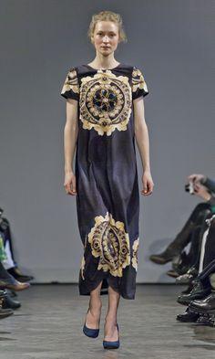 Ida Sjostedt A/W '14 Copenhagen Style, Copenhagen Fashion Week, Fall Winter, Runway, Bohemian, Cat Walk, Boho
