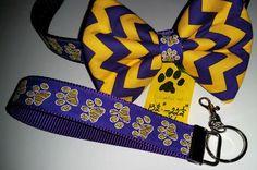 DOG COLLAR & BOWTIE w/matching Key Fob by osewdeborah on Etsy