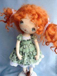 Купить Девочка Иванка ( по мотивам) - рыжий, кукла ручной работы, кукла в подарок