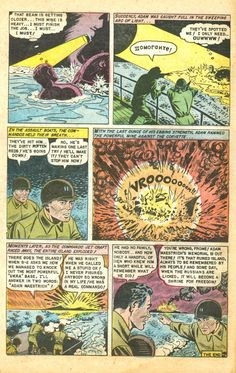 Commando Crackerjack | Atomic War! No. 3 (1953)