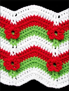 Annie's Attic 50 Ripple Stitches - Crochet Pattern. You can choose your yarn weight and hook size for any of these 50 ripple stitch patterns by Darla Sims that