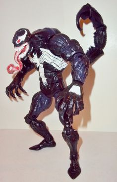 marvel legends VENOM spider-man classics SCORPION complete