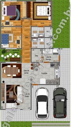 (notitle) The price reach of the Apartment was amazing. A person shouldn't rush apartment searching. Cottage Style House Plans, Cottage Plan, Home Building Design, Building A House, South Facing House, Zen Design, Modern Bungalow, Luxury House Plans, Small House Design