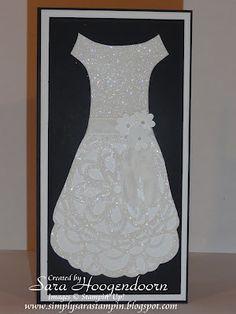 Wedding Dress by shoogendoorn - Cards and Paper Crafts at Splitcoaststampers