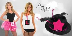 Hen party can be made more fun by wearing funny costumes and accessorizing them with interesting items. Make your hen party memorable with great ideas. Dare Games, Hen Party Accessories, Funny Costumes, Hens Night, Put Together, Costume Shop, Halloween Fancy Dress, Party Supplies, Looks Great