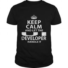 UI DEVELOPER T Shirts, Hoodies. Check Price ==► https://www.sunfrog.com/LifeStyle/UI-DEVELOPER-119289587-Black-Guys.html?41382