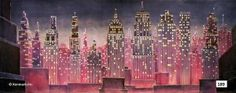 Kenmark - great drops (Theatrical backdrop for rent 189D City at Night)