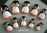 penguin nails - Google Search