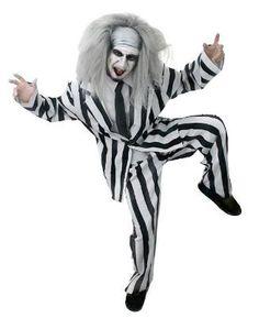 80s Crazy Ghost Beetlejuice Costume  sc 1 st  Pinterest & 93 best 80s Fancy Dress for men images on Pinterest | Costume ...
