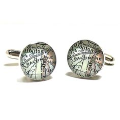 Antique Baltimore Jewelry Cufflinks by dlkdesigns