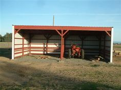 how to build a tractor shed - Google Search