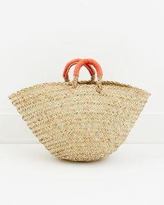 CONTESSA. Cottage Basket, Orange