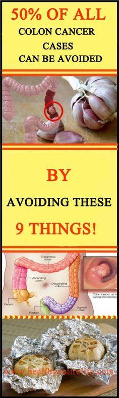 Avoid Colon Cancer....