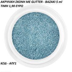 ακρυλική σκόνη με glitter-βαζακι 5ml Glitter Nails, Thing 1, Plates, Tableware, Licence Plates, Dishes, Dinnerware, Griddles, Glittery Nails
