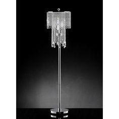 House of Hampton Ryals Candelabra Floor Lamp Black And White Living Room Decor, Traditional Light Bulbs, Glam Bedroom, Lamp Shade Store, Crystal Design, Chandelier Lamp, Light Bulb Types, Floor Lamp, Ceiling Lights