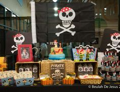 "Pirates / Birthday ""Noah's 1st Pirate Party Birthday"" 