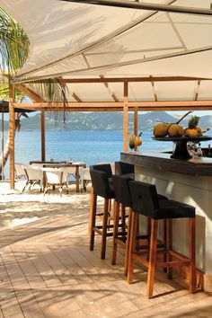 Photo of the Day – Hotel Christopher Beach Bar, St. Barth