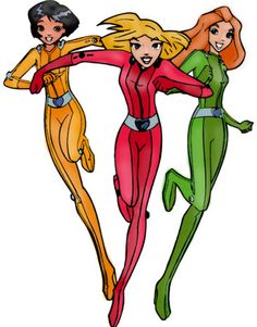Totally Spies Go colored by Stairway2Fantasy.deviantart.com on @DeviantArt