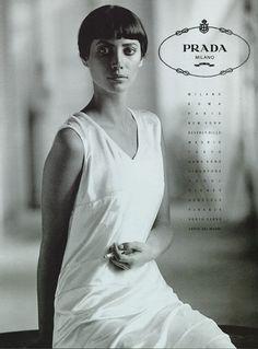Christy Turlington for Prada Ad 1993