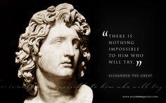 """""""Non c'è nulla di impossibile per colui che vuole tentare"""". Un motto valido simile a questo: """"VOLERE E' POTERE""""."""