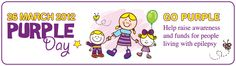 Purple day-Epilepsy Awareness March 26