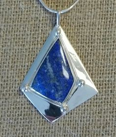 Lapis with pyrite! love the blue....