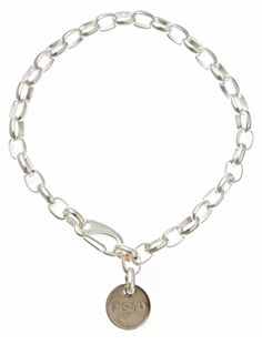 Beatnik Necklace Silver  This bohemian version of diva necklace features a vintage Chanel inspired chain. As versatile as you are, this can be a necklace or a triple wrap bracelet