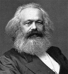 Karl Marx (Trier, 5 mei 1818 – Londen, 14 maart 1883) was een Duitse denker die belangrijke invloed heeft op de (politieke) filosofie, de economie, de sociologie en de historiografie; hij was een van de grondleggers van de arbeidersbeweging en een centrale figuur in de geschiedenis van het socialisme en het communisme.