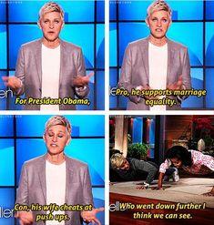25 Ellen pics, she is hilarious!