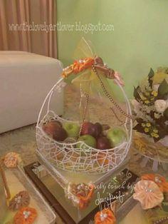 DIY : gubahan hantaran (malay wedding)