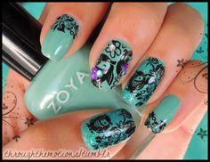 Owls #nails