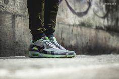 "A Closer Look at the Nike Air Max 90 Knit Jacquard ICE QS ""Grey Mist"""