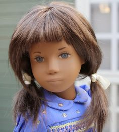 Sasha Doll UK: Repaints -little lady Hadlee was a 1970 Gregor with badly falling hair