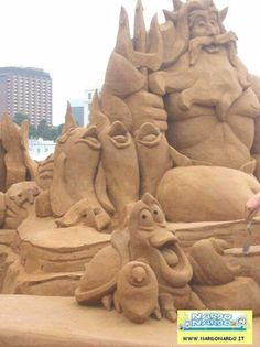 castello di sabbia la sirenetta