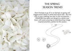 White flowers for spring #PANDORAstyle #white #trend