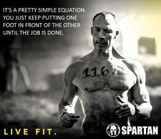 I love the Spartan Race!