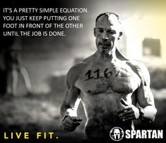I love the Spartan Race!