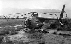 Vietnam Helicopter Pictures | ... -6A light observation helicopter at 1NZATTV compound, Chi Lang, 1972