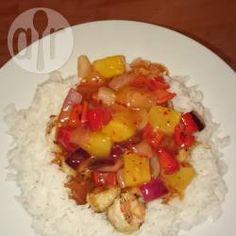 Sweet and sour sauce with pineapple @ allrecipes.co.uk