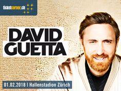 Der französische Superstar, DJ und Produzent David Guetta kündigt für 2018 ein exklusives Live-Spektakel in der Schweiz an. Zürich darf sich am 1. Februar auf seinen pulsierenden Sound freuen. David Guetta, Star Wars, Trance, Techno, Superstar, Live, House, February, Switzerland